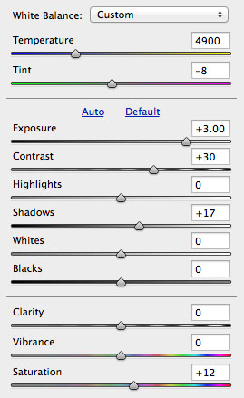 how to bring out sharpness on canon raw files
