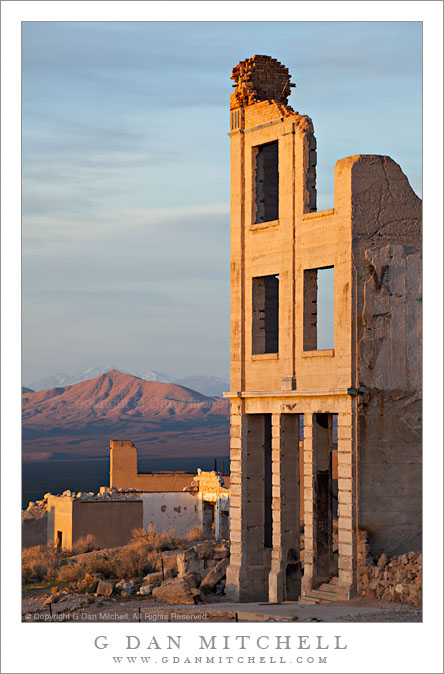 Rhyolite, Desert Mountains, Sunrise