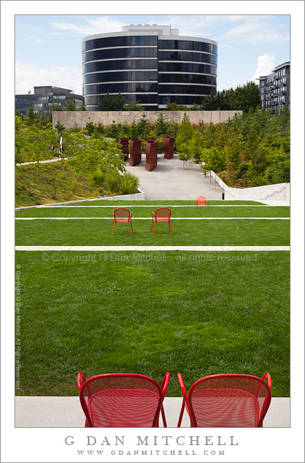 Chairs and Terrace, Olympic Sculpture Park