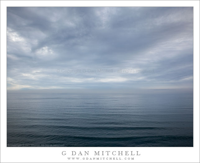 Winter Seascape - Near Waddell Beach