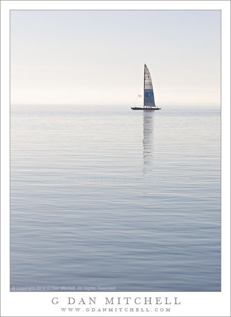 Sail Boat, San Francisco Bay