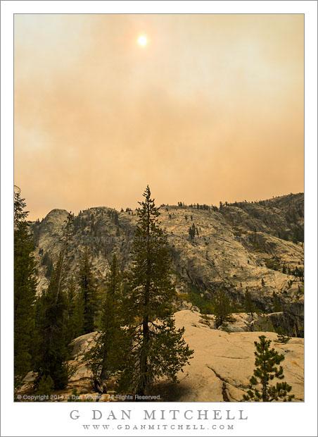 Meadow Fire Smoke Plume