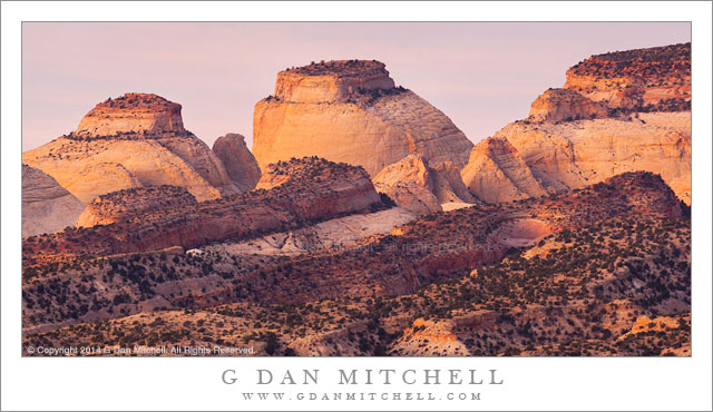 First Light, Capitol Reef