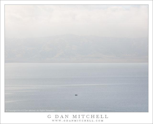 Boat, San Luis Reservoir