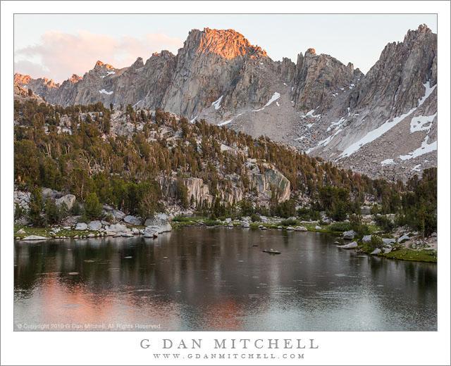 Lake and Pinnacles, Evening