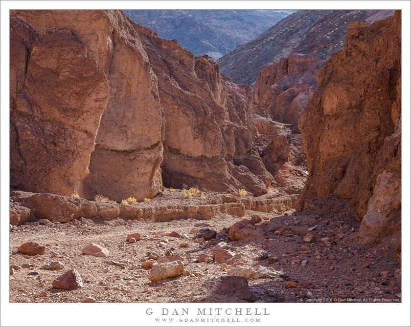 Winding Desert Canyon
