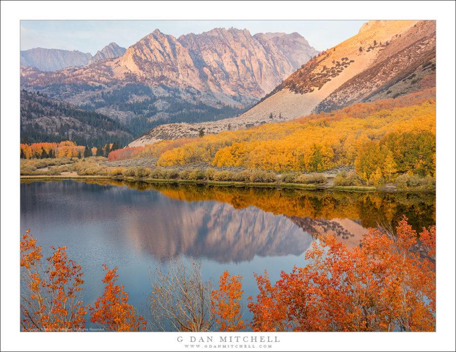 Autumn Lake, Dawn, Eastern Sierra