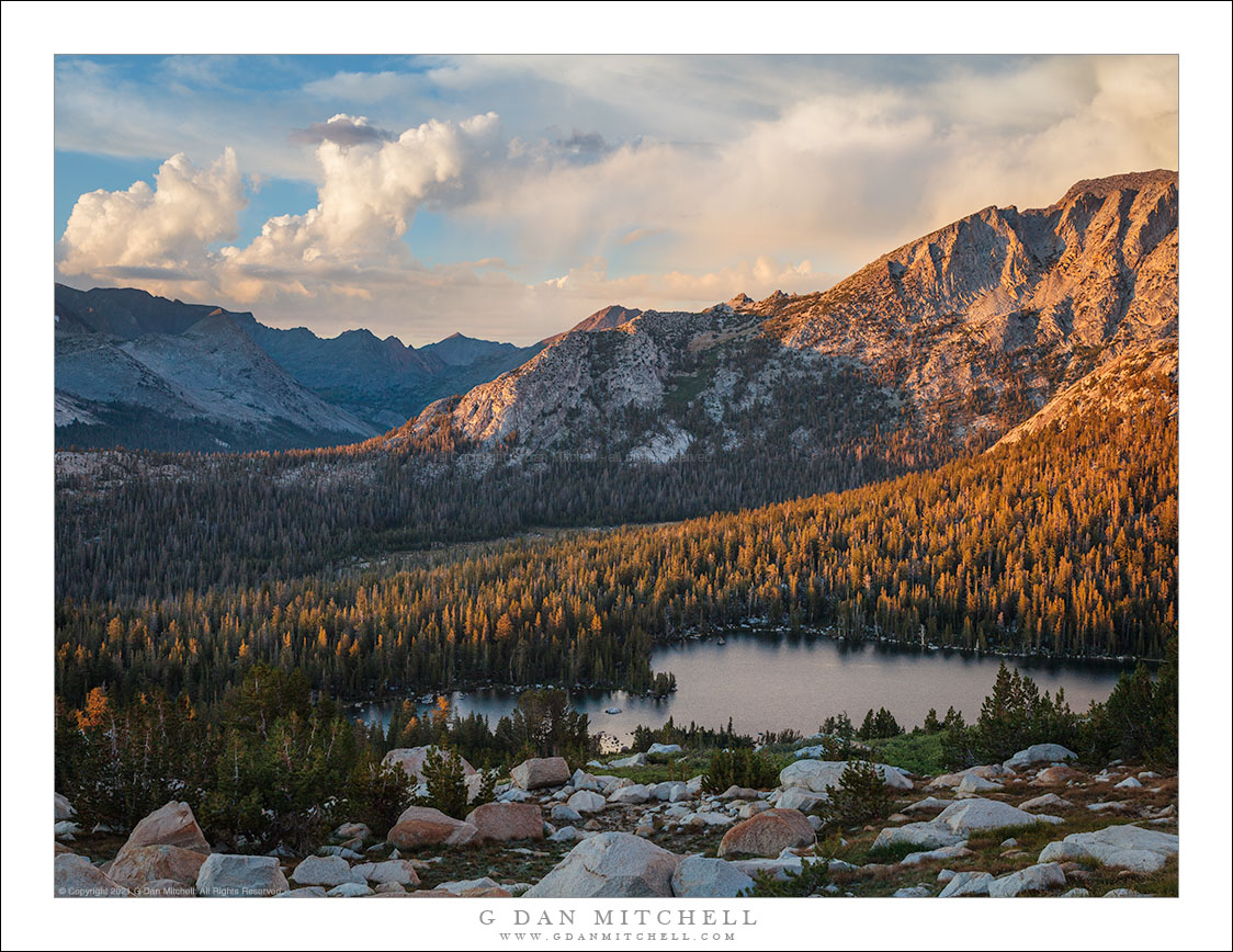 Dissipating Sierra Storm, Evening