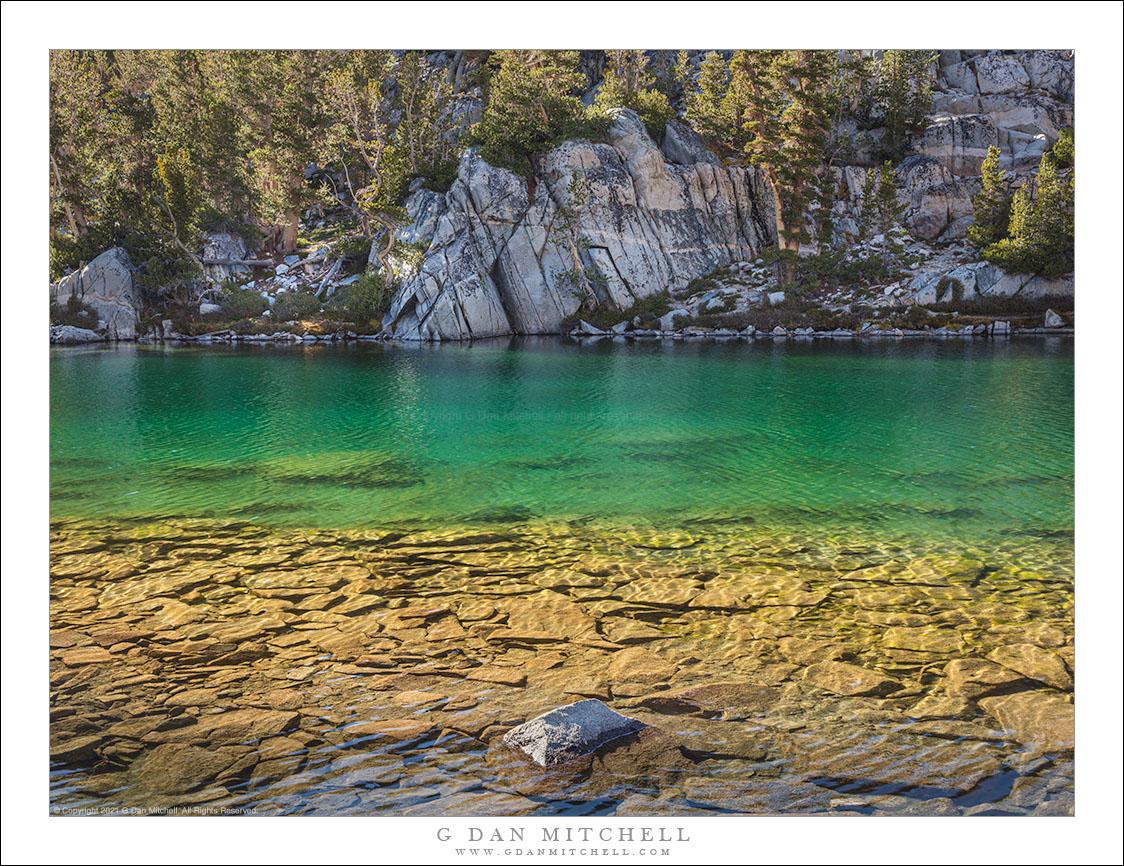 Sierra Lake, Submerged Rocks